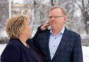 Erna Solberg og Sindre