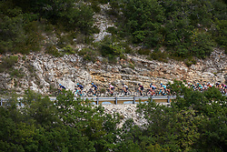 Ruth Winder (USA) and Kasia Niewiadoma (POL) at Tour Cycliste Féminin International de l'Ardèche 2018 - Stage 4, a 116.3km road race from Chateauneuf de Gadagne to Mont Serein, France on September 15, 2018. Photo by Sean Robinson/velofocus.com
