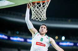 Aleksandar Lazic of Petrol Olimpija during basketball match between KK Petrol Olimpija and KK Rogaska in Round #5 of Liga Nova KBM za prvaka 2018/19, on March 31, 2019, in Arena Stozice, Ljubljana, Slovenia. Photo by Vid Ponikvar / Sportida