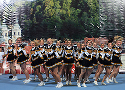 NRC Tigers Senior Elite all Female, Norway during All Female senior at second day of European Cheerleading Championship 2008, on July 6, 2008, in Arena Tivoli, Ljubljana, Slovenia. (Photo by Vid Ponikvar / Sportal Images).