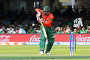 Tamim Iqbal of Bangladesh batting during the ICC Cricket World Cup 2019 match between Pakistan and Bangladesh at Lord's Cricket Ground, St John's Wood, United Kingdom on 5 July 2019.