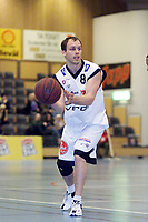 Basket - KB Tigers - Centrum Tigers - Kaptein Sigurd Ibsen Pirats. Oslo 25. januar 2001.  (Foto: Andreas Fadum, Digitalsport)