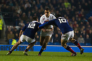 Joe Marchant during the 2015 Under 20s 6 Nations match between England and France at the American Express Community Stadium, Brighton and Hove, England on 20 March 2015.