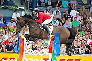 Gregory Wathelet - Conrad de Hus<br /> FEI European Championships Aachen 2015<br /> © DigiShots
