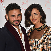 Ryan Thomas and Lucy Mecklenburgh Arrivals at La Bohème VIP Performance on 29 January 2019 at London Coliseum, London, UK.