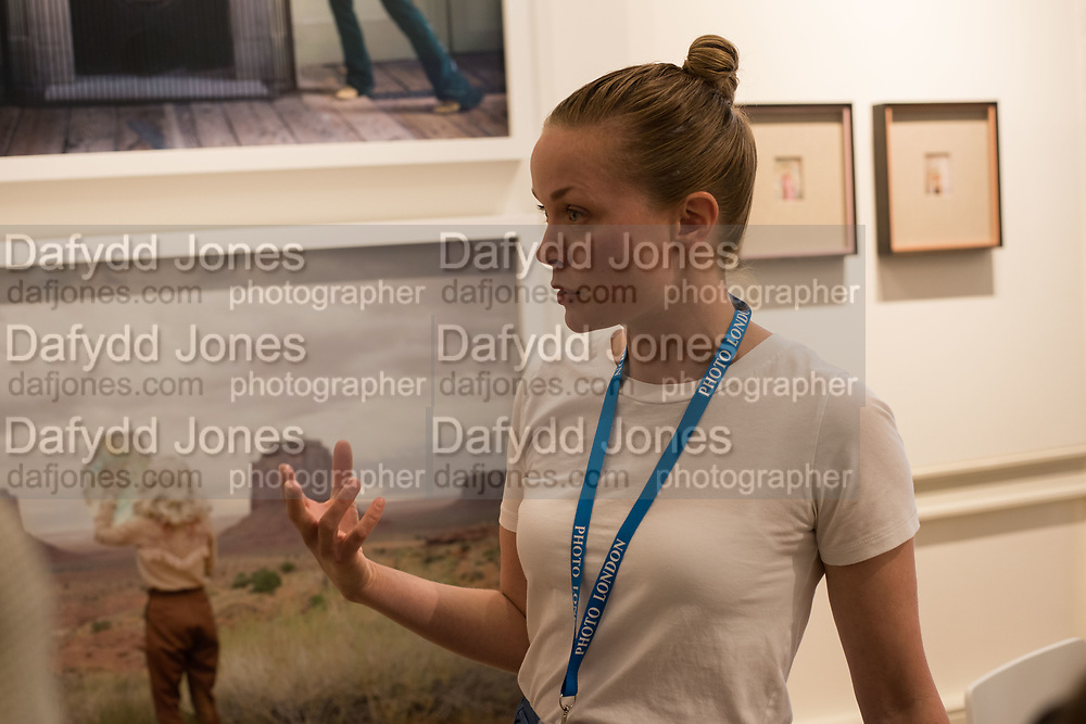 ANJA NIEMI, Opening of Photo London, 2018. Somerset House. London. 16 May 2018