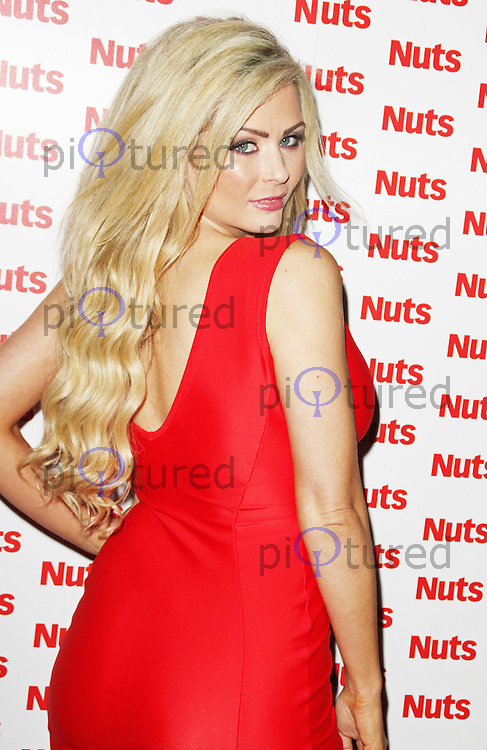 Nicola McLean, Nuts Magazine - 10th Birthday Party, Aura Mayfair, London UK, 23 January 2014, Photo by Brett D. Cove