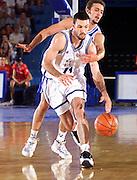 Antibes 21/06/1999<br /> Campionati Europei di Basket Francia 1999<br /> Italia-Bosnia<br /> Andrea Meneghin