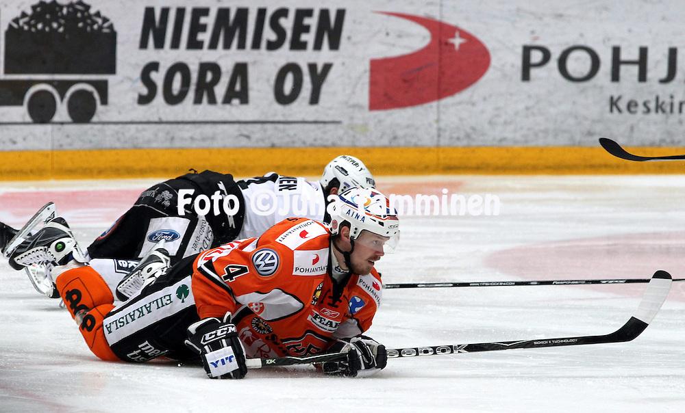 22.04.2010, Patria Areena, H?meenlinna..J??kiekon SM-liiga 2009-10, playoffs 1. loppuottelu HPK - TPS..Kai Syv?salmi - HPK.©Juha Tamminen.