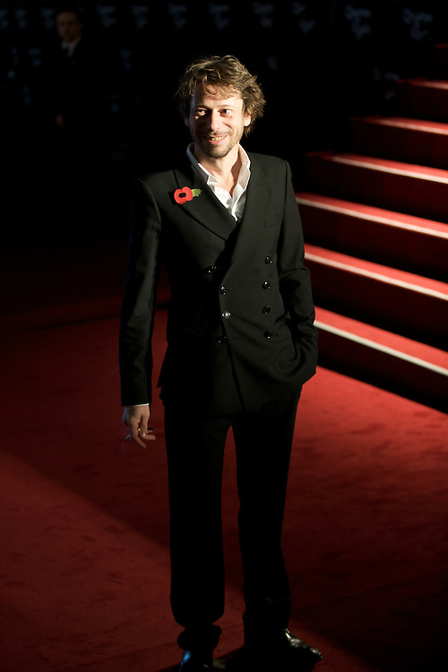London.  October 29, 2008.  Actor Mathieu Amalric  attends the world premiere of 'Quantum of Solace,' the 22nd film in the James Bond franchise, at the Odeon Theater in Leicester Square on October 29, 2008.  (Photo by Mark Bryan Makela)