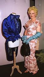 Designer VIVIENNE WESTWOOD at a party in London on 25th June 1998.MIU 19
