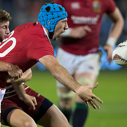 Justin Tupuric, Toll Stadium, Whangarei game 1 of the British and Irish Lions 2017 Tour of New Zealand,The match between Provincial Union Team and British and Irish Lions,Saturday 3rd June 2017   <br /> <br /> (Photo by Kevin Booth Steve Haag Sports)<br /> <br /> Images for social media must have consent from Steve Haag