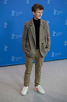 Actor Jon Ranes at the photocall for the film Out Stealing Horses (Ut Og Stjæle Hester) at the 69th Berlinale International Film Festival, on Saturday 9th February 2019, Hotel Grand Hyatt, Berlin, Germany.