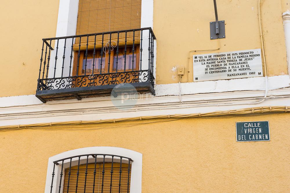 Centro Cultural Ciega de Mazanares. Ruta de Don Quijote. Manzanares. Ciudad Real ©Antonio Real Hurtado / PILAR REVILLA