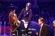 Piet Raijmakers Jr - Van Schijndel's Rascin, Gerard van Schijndel<br /> KWPN Hengstenkeuring 2013<br /> © DigiShots