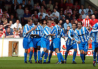 LINCOLN CITY/HUDDERFIELD TOWNNATIOPNWIDE DIVISION 3 PLAYOFF SEMI FINAL 1ST LEG 05.05.04 <br />