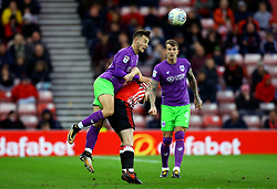 Josh Brownhill of Bristol City heads the ball - Mandatory by-line: Robbie Stephenson/JMP - 28/10/2017 - FOOTBALL - Stadium of Light - Sunderland, England - Sunderland v Bristol City - Sky Bet Championship