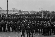 Police at Orgreave.18/06/1984.