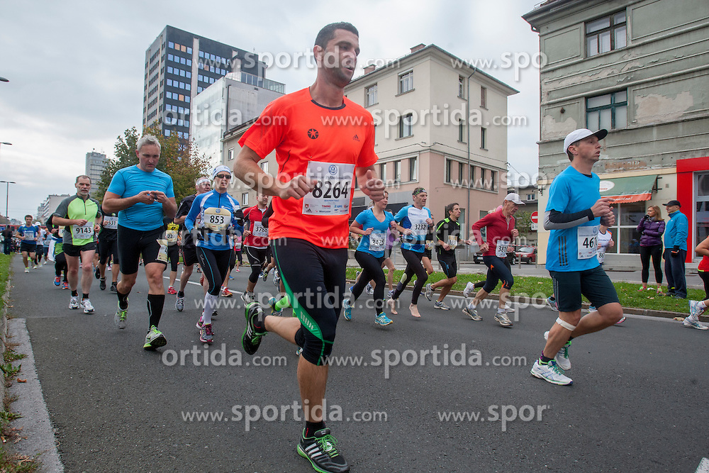 Benjamin Terus during 19th Ljubljana Marathon 2014 on October 26, 2014 in Ljubljana, Slovenia. Photo by Urban Urbanc / Sportida.com