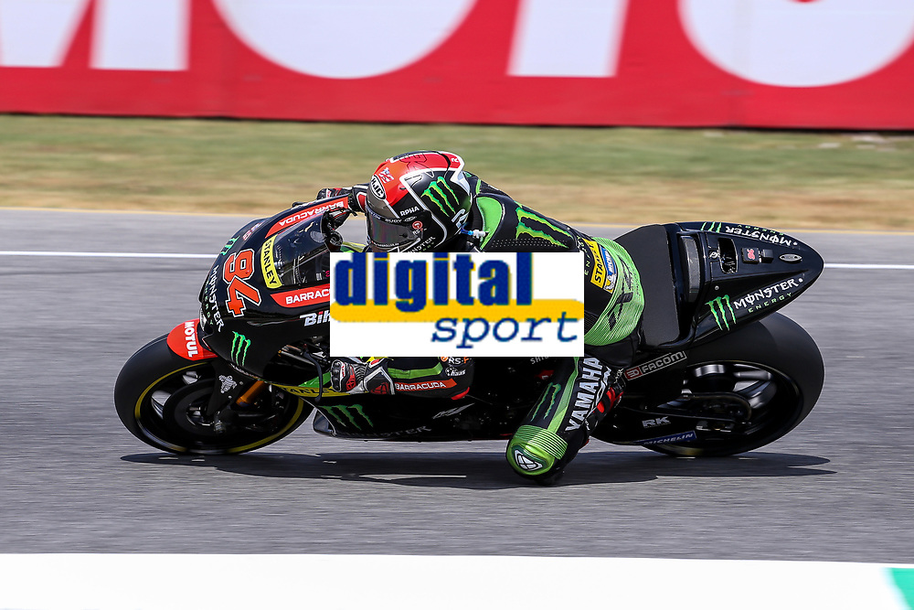 Jonas Folger of Germany  and Monster Yamaha Tech 3 during the MotoGP Italy Grand Prix 2017 at Autodromo del Mugello, Florence, Italy on 4th June 2017. Photo by Danilo D'Auria.<br /> <br /> Danilo D'Auria/UK Sports Pics Ltd/Alterphotos