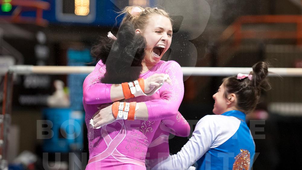 Gymnastics vs. San Jose, Photo by Wankun Sirichotiyakul