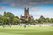 New Road, Home of Worcestershire County Cricket Club during the Natwest T20 Blast North Group match between Worcestershire County Cricket Club and Derbyshire County Cricket Club at New Road, Worcester, United Kingdom on 19 June 2015. Photo by Shane Healey.