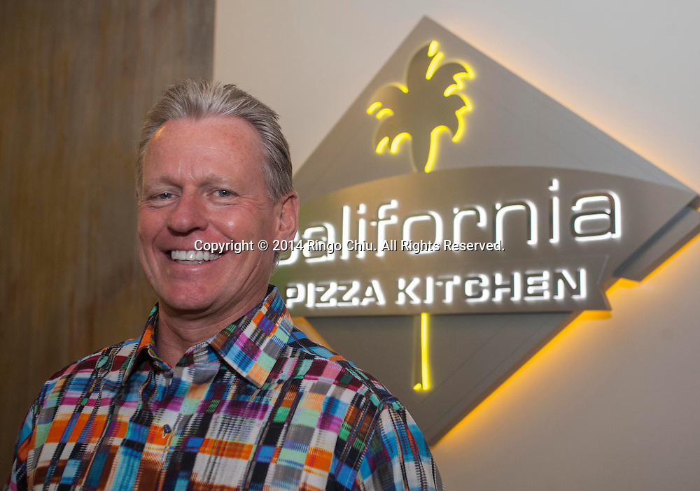 G.J. Hart, chief executive of California Pizza Kitchen.<br /> (Photo by Ringo Chiu/PHOTOFORMULA.com)