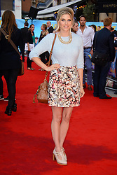 Image ©Licensed to i-Images Picture Agency. 12/08/2014. London, United Kingdom. <br /> Ashley James attends the What If - UK film premiere. Leicester Square. Picture by Chris Joseph / i-Images
