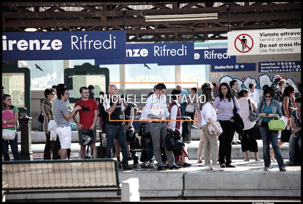 Firenze Stazione Rifredi, il progetto architettonico è dello studio di Norman Foster prevede in questa area la futura stazione sotteranea dell'alta velocità.....