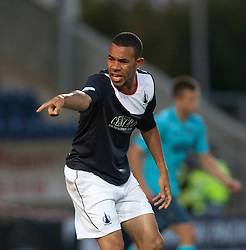 Falkirk's Phil Roberts.<br /> Falkirk 2 v 1 Dunfermline, Scottish League Cup, 27/8/2013, at The Falkirk Stadium.<br /> &copy;Michael Schofield.