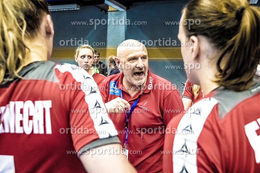 29.05.2016, BSFZ Südstadt, Maria Enzersdorf, AUT, ÖHB, Testspiel, Österreich vs Argentinien, im Bild Trainer Herbert Müller (AUT)// during the women's friendly match between Austria and Argentina at the BSFZ Südstadt, Maria Enzersdorf, Austria on 2016/05/29, EXPA Pictures © 2016, PhotoCredit: EXPA/ Sebastian Pucher