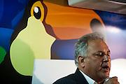 Campanha Marcio Lacerda..O deputado Virgílio Guimarães (PT) durante ato promovido pelo Governador Aecio Neves que reuniu reune deputados, senadores e vereadores da base de apoio a candidatura de Marcio Lacerda na sede do PSDB em Belo Horizonte...Fotos: Leo Drumond / NITRO