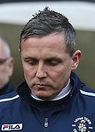 Picture by David Horn/Focus Images Ltd +44 7545 970036.05/01/2013.Paul Buckle, Manager of Luton Town during the The FA Cup match at Kenilworth Road, Luton.
