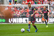 Mateusz Klich of Leeds United (43) passes the ball during the EFL Sky Bet Championship match between Bristol City and Leeds United at Ashton Gate, Bristol, England on 4 August 2019.