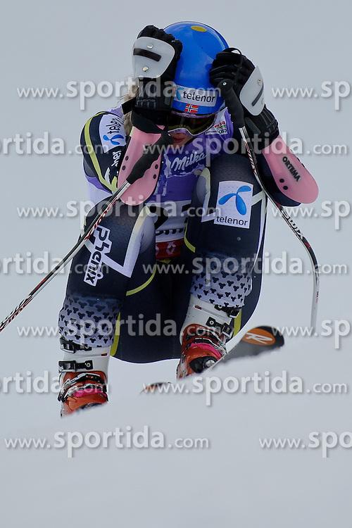 05.02.2013, Planai, Schladming, AUT, FIS Weltmeisterschaften Ski Alpin, Super G, Damen, im Bild Ragnhild Mowinckel (NOR) nach ihrem Ausfall // Ragnhild Mowinckel of Norway in action during ladies SuperG at the FIS Ski World Championships 2013 at the Planai Course, Schladming, Austria on 2013/02/05. EXPA Pictures © 2013, PhotoCredit: EXPA/ Sandro Zangrando
