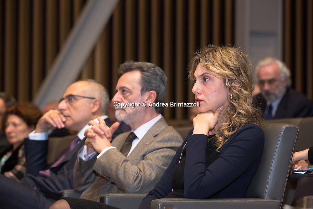 Bologna 01/12/2015 Convegno Confindutria: Viaggio nell&rsquo;Italia che innova<br /> Nella Foto: Marianna Madia Ministro per la Semplificazione e Pubblica Amministrazione