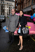 GIANLUCA LONGO; AVRIL OATES, The Launch of the Lanvin store on Mount St. Presentation and cocktails.  London. 26 March 2009