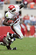Arkansas Razorbacks running back Felix Jones runs with the ball during a 24 to 13 loss to the Alabama Crimson Tide on September 24, 2005 at Bryant-Denny Stadium in Tuscaloosa, Alabama..Mandatory Credit: Wesley Hitt/Icon SMI