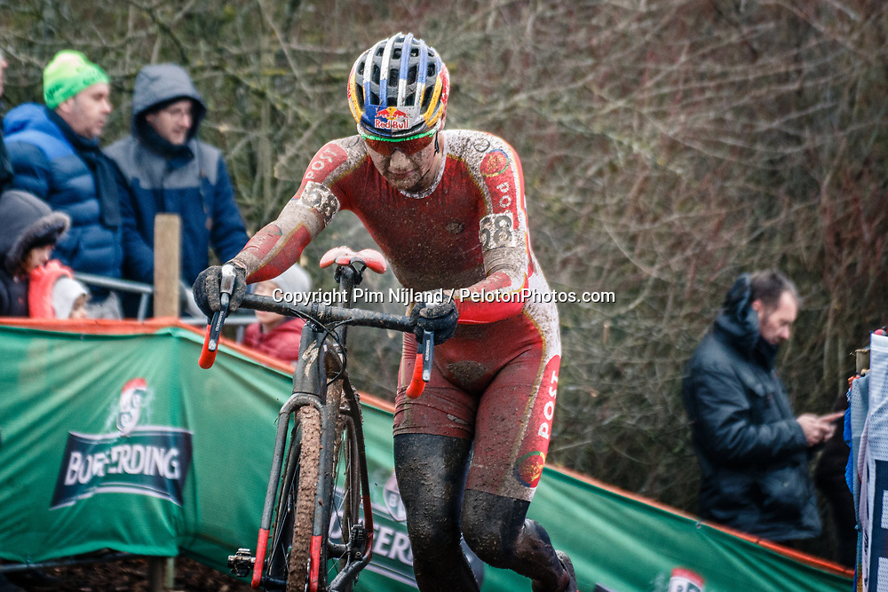 Simon ANDREASSEN of DEN during the Men Under 23 race, UCI Cyclo-cross World Championship at Bieles, Luxembourg, 29 January 2017. Photo by Pim Nijland / PelotonPhotos.com | All photos usage must carry mandatory copyright credit (Peloton Photos | Pim Nijland)