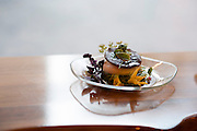 Photo by Matt Roth<br /> Assignment ID: 30148071A<br /> <br /> Burrata is the first course served at the wedding reception for David Hagedorn, a chef and food writer, and Michael Widomski, a spokesman for the National Weather Service, at Fiola in Washington, DC, Sunday, September 22, 2013.