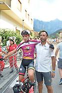 Ciclismo giovanile, 10A Coppa di Sera, Esordienti Primo Anno Maschile, Borgo Valsugana 10 settembre 2016 <br /> Andrea Dalvai, Luca Tognon<br /> &copy; foto Daniele Mosna