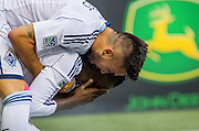 10 August 2014:   Action during a game between Vancouver Whitecaps FC and Sporting Kansas City on Bell Pitch at BC Place Stadium in Vancouver, BC, Canada. ****(Photo by Bob Frid - Vancouver Whitecaps 2014 - All Rights Reserved)***