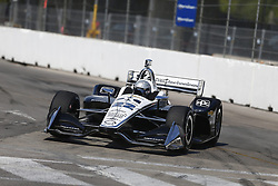 July 13, 2018 - Toronto, Ontario, Canada - SIMON PAGENAUD (22) of France takes to the track to practice for the Honda Indy Toronto at Streets of Exhibition Place in Toronto, Ontario. (Credit Image: © Justin R. Noe Asp Inc/ASP via ZUMA Wire)