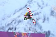 "Rana Okada (JPN), <br /> FEBRUARY 12, 2014 - Snowboarding : <br /> Women's Halfpipe Qualification <br /> at ""ROSA KHUTOR"" Extreme Park <br /> during the Sochi 2014 Olympic Winter Games in Sochi, Russia. <br /> (Photo by YUTAKA/AFLO SPORT)"