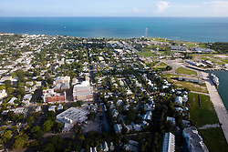 Aerial view of Key West, Florida, United States of America