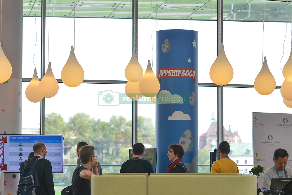 September 6, 2017 - Krakow, Poland - Over 2,500 participants attended Google Developer Days (GDD), two days of global events showcasing the latest developer products and platforms from Google, take place in Krakow's ICE Congress Center, on September 5-6, 2017..On Wednesday, September 6, 2017, in Krakow, Poland. (Credit Image: © Artur Widak/NurPhoto via ZUMA Press)