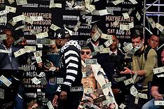 McGregor v Mayweather jr Press Conference - 13 July 2017