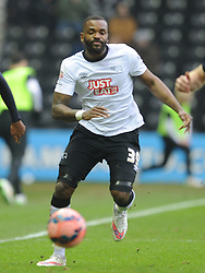 Darren Bent Derby County, Derby County v Reading, FA Cup 5th Round, The Ipro Stadium, Saturday 14th Febuary 2015