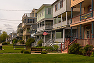 A row of houses, Inns and Bed and Breakfasts in Ocean Grove, NJ