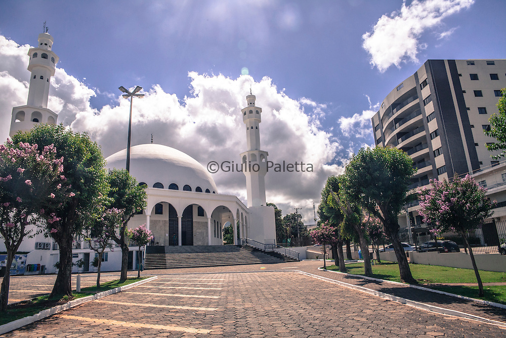 The Omar Ibn Al-Khattab mosque in Foz do Iguacu-Khattab mosque in Foz do Iguacu, Brazil